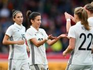 Fußball: DFB-Frauen landen 11:0-Kantersieg gegen Färöer