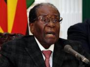 Simbabwe: Rücktritt: Präsident Mugabe hat ausregiert