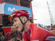 Radsport: Auffälliger Test bei Tour-de-France-Sieger Chris Froome