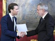 Österreich: Neues Kabinett vereidigt: Sebastian Kurz ist Kanzler