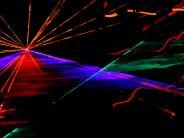 : Lichtspiele – Bilder einer Lasershow von Yvonne Göppel
