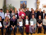 Gartenbau: Diplom für die neuen Gartenpfleger