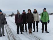 Wanderung: Der klirrenden Kälte getrotzt