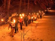 TSV Eresing: Durch die winterliche Nacht