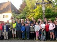 Wallfahrt: Von Walleshausen auf den Heiligen Berg