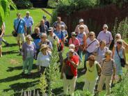 GartenfreundeKaufering: Im Park des Grünen Barons