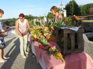 Gartenbauverein: Kräuterbuschen für den Gottesdienst
