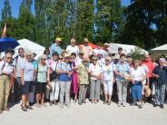 Gartenfreunde: Mit neuen Sonnenhüten nach Hause