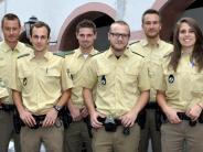 Neue Einsatzkräfte: Sechs Polizisten starten in Dillingen