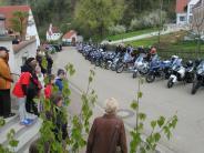 Motorradwallfahrt: Biker bitten zum Saisonauftakt um den Segen Gottes