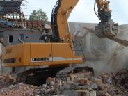 Wertingen: Ein Haus verschwindet