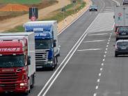 Kreis Dillingen: Neue B16: Täglich fahren 1183 Lkw weniger durch Dillingen