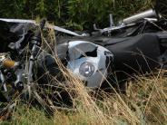 Unterliezheim: Motorradfahrer stirbt bei Verkehrsunfall