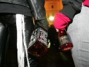 Wertingen: Zwei 15-Jährige mit einer Flasche Wodka erwischt