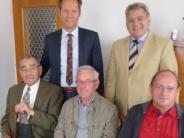 Gratulation in Wertingen: Der engagierte Siegfried Wengner wurde 90