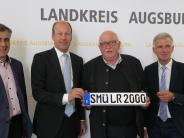 Landkreis Augsburg: Nummernschilder: SMÜ kehrt zurück auf die Straßen