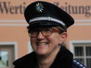 Interview: Heute fühltdie Wertinger Polizeichefin Verbrechern auf den Zahn
