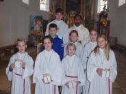 Kirche: 38 Ministranten im Dienst am Altar