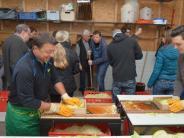 Lauterbach: Kraut stampfen mit dem Obst- und Gartenbauverein