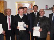 Landkreis Dillingen: Insgesamt 98 Jahre in der Kommunalpolitik engagiert