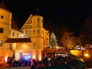 Advent in Wertingen: Wieder eine märchenhafte Schlossweihnacht