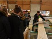 Betriebserkundung: Wie ein Gebäude aus Holz entsteht