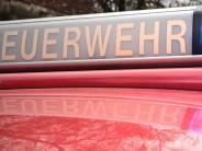 Dillingen: Ofenbrand: Frau und Polizist verletzt