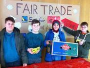 Bananen-Aktion in Wertingen: Mittelschule macht fairen Handel zum Thema
