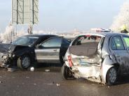 Polizeireport: Autos stoßen zwischen Gundelfingen und Medlingen zusammen