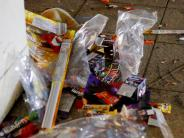 : Viele Feuerwerksbatterien werden einfach stehen gelassen