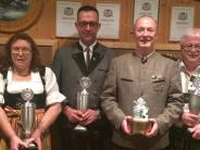 Schießen: Alpenrose-Schützen sichern sich den Wanderpokal