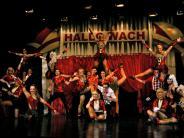 Dillingen: Show und Synchronität