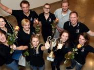 DZ-/WZ-Sportlerwahl: Die Wertinger Handball-Damen haben die Wahl zur Mannschaft des Jahres im Landkreis gewonnen