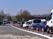 """Straßenbauarbeiten in Wertingen: """"Stop and go"""" auf der Umgehung"""