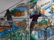 Malerei: Kunst trifft Kfz-Werkstatt