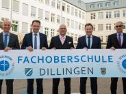 Bildung: Die Fachoberschule in Dillingen kommt