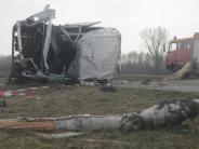 Bächingen: Zwei Schwerverletzte nach Unfall