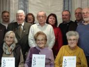 Bilanz: Zusammen stolze 1150 Jahre Mitgliedschaft