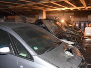 Kriminalität: Feuerteufel schlägt erneut in Dillingen zu