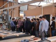 : Holzbaujunioren zu Besuch in Binswangen
