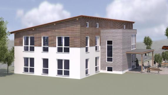 Holzheim: Das Ärztehaus wird Realität