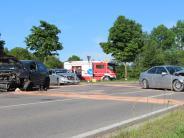 Polizei: Unfall mit drei Autos am Judenberg
