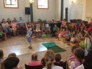 Kinderkonzert in Binswangen: Ein Sommerfest der kleinen Tiere