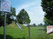 Biberbach: Spielplatz wird wegen der giftigen Raupe gesperrt