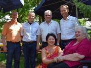 Wertingen: Sommerfest im Seniorenzentrum mit Wermutstropfen