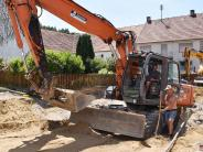 Dorfleben: Nicht nur Bauarbeiten machen Binswangen schön