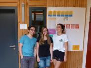 Montessorischule: Drei Schüler machten ihr Abitur im Alleingang