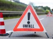 Allersberg: Spektakulärer LKW-Unfall: Zwei Schwerverletzte und viel Chaos