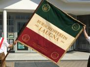 """Gemeindeleben: Burschenverein Laugna ist neu """"beflaggt"""""""