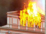 Großeinsatz: Nach Rathausbrand blutet Dillingern das Herz